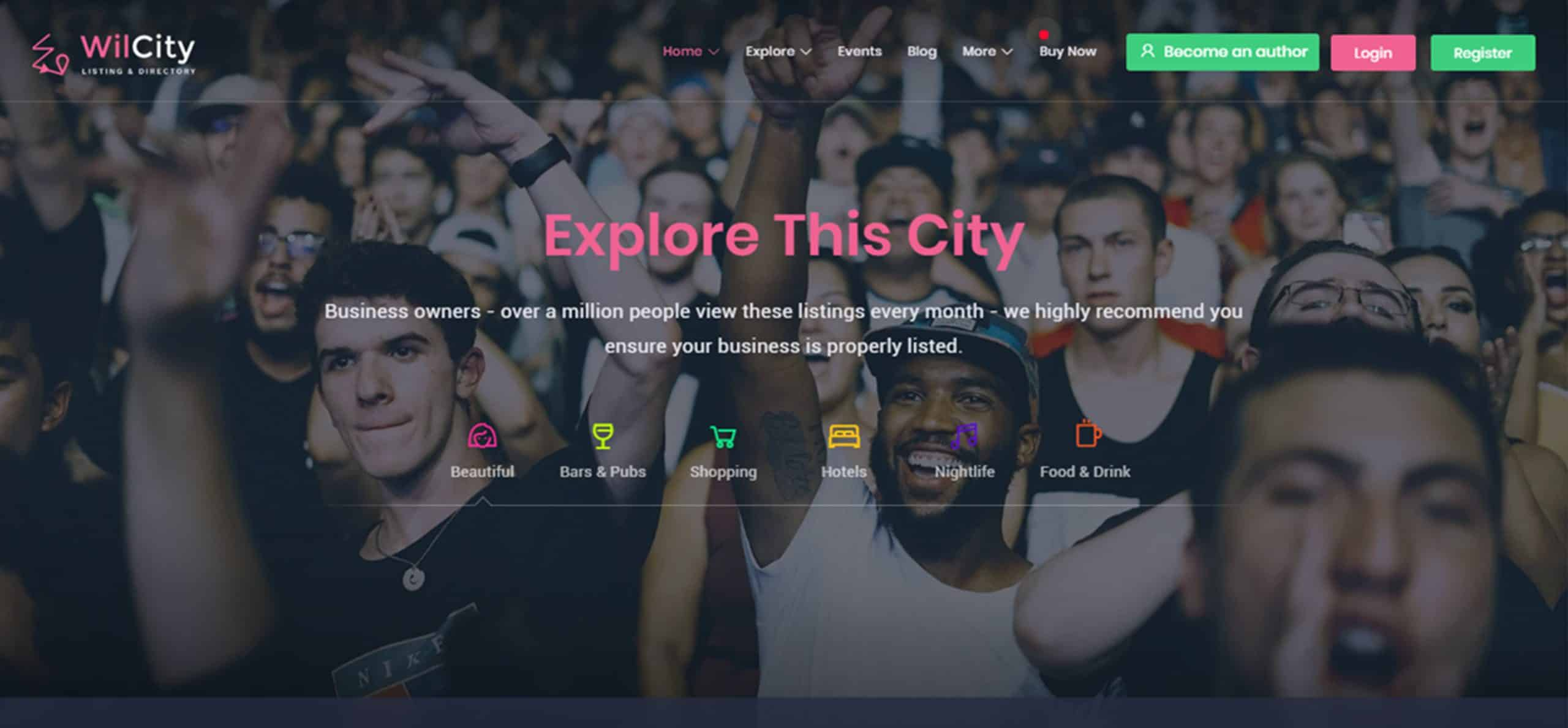 Wilcity Theme Review